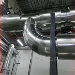 浙江风筒外护镀锌铁板保温安装工程