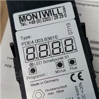 指示器PDE4.003.8361E德国MONTWILL数字显示器、变送器、传感器