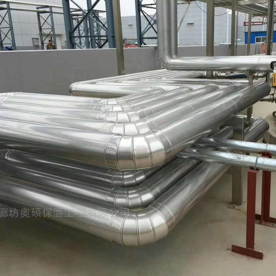 铝皮热水管道保温工程施工