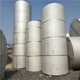 二手白钢储水罐10吨不锈钢储罐
