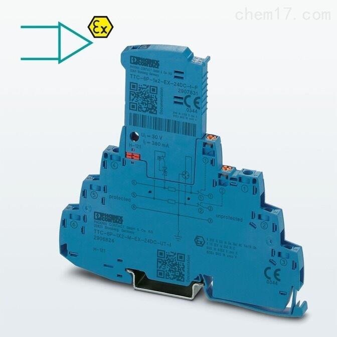 菲尼克斯TTC-6-1X2-M-EX-24DC-UT-I防雷器
