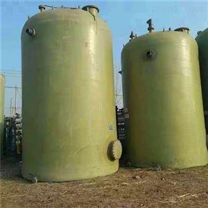 闲置供应二手60立方玻璃钢盐酸储罐