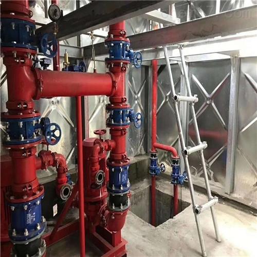 4米高抗浮式箱泵一体化消防泵站特别之处