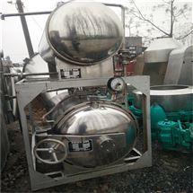 回收二手全自动双层水浴式 喷淋式杀菌锅