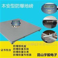 ACX涂料厂5T高精度防爆电子地磅
