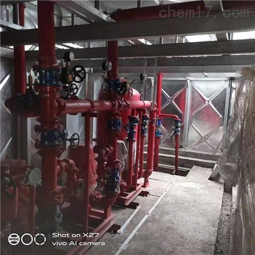 抗浮式箱泵一体化消防泵站设备规范
