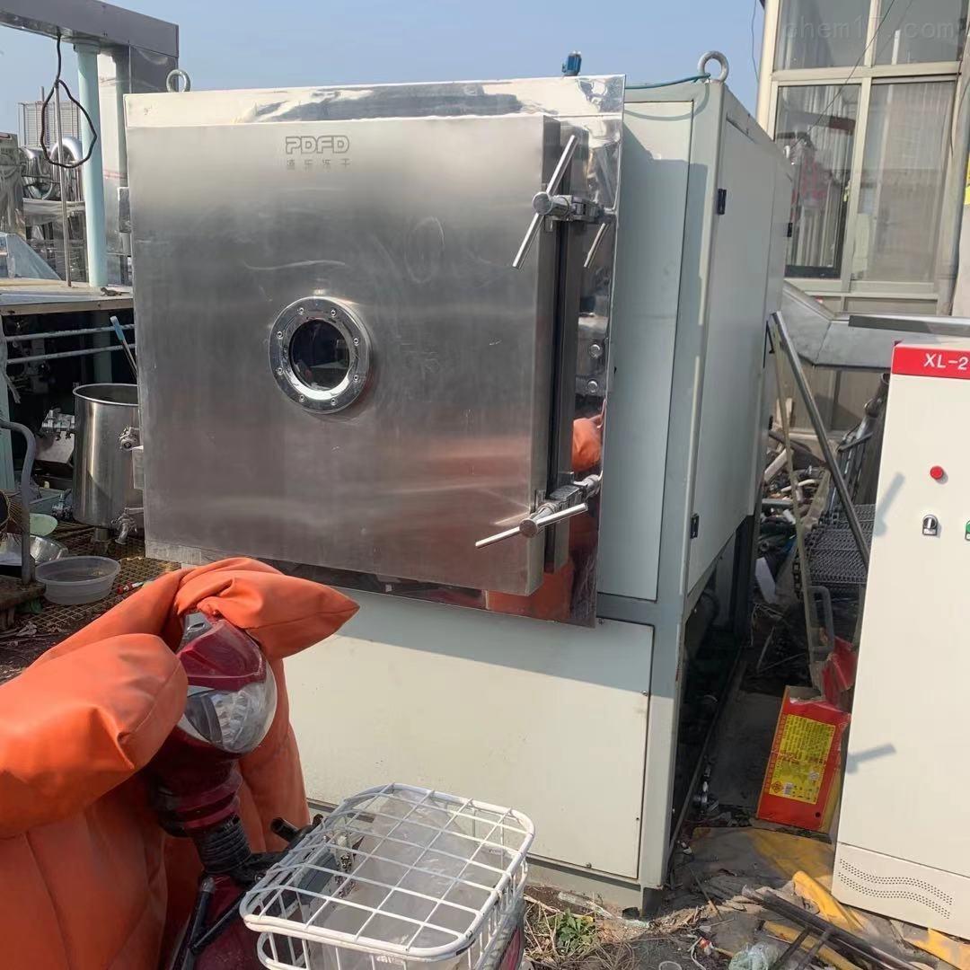 二手上海浦东产2平方真空冻干机