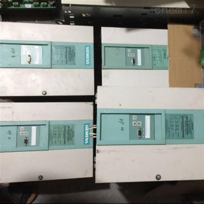 维修解决西门子直流调速器上电面板无显示