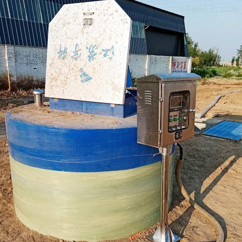 浙江玻璃钢一体化泵站智能泵站厂家