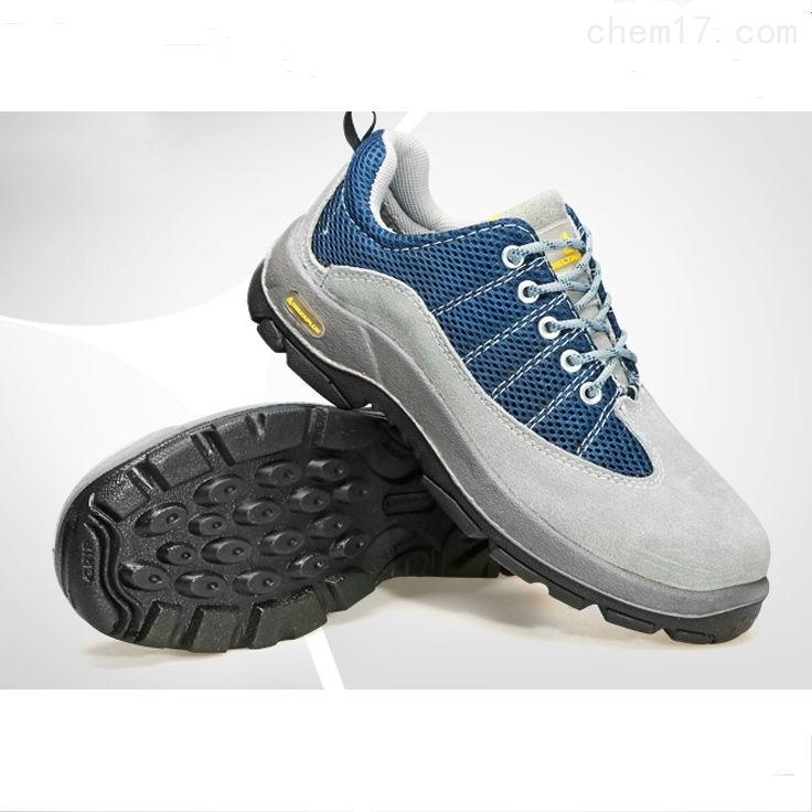代爾塔 301322毛面牛皮彩虹輕便透氣安全鞋