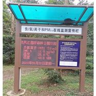 JYB-FY梅州森林公园负氧离子浓度监测站