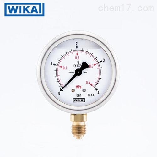 WIKA威卡电接点压力表PGE23.100,1Mpa现货