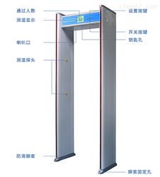 LB-311X红外测温安检门