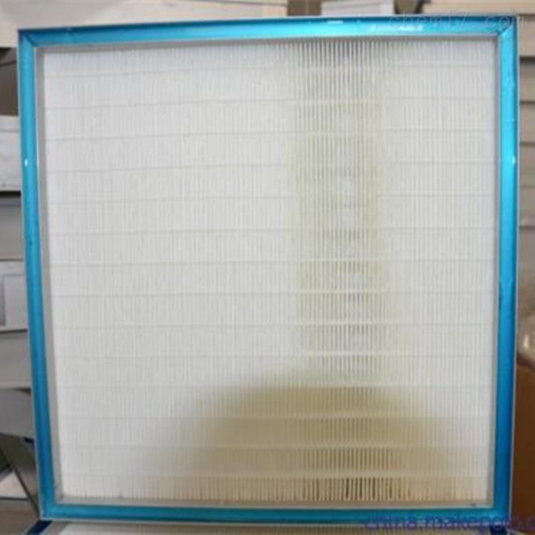 蓝色硅凝胶密封高效过滤器