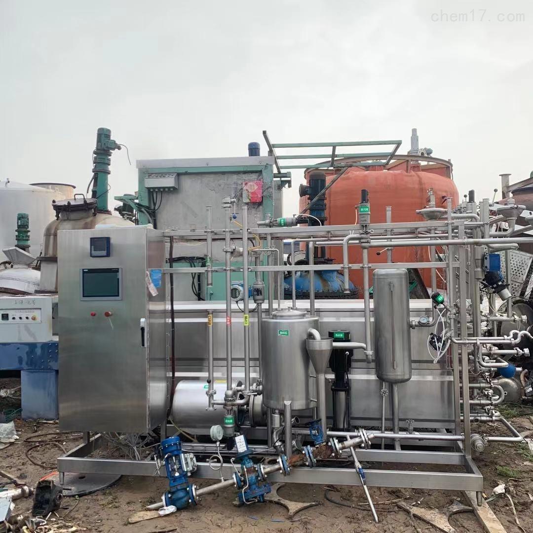 二手UHT-3500上海南华9成新管式杀菌机