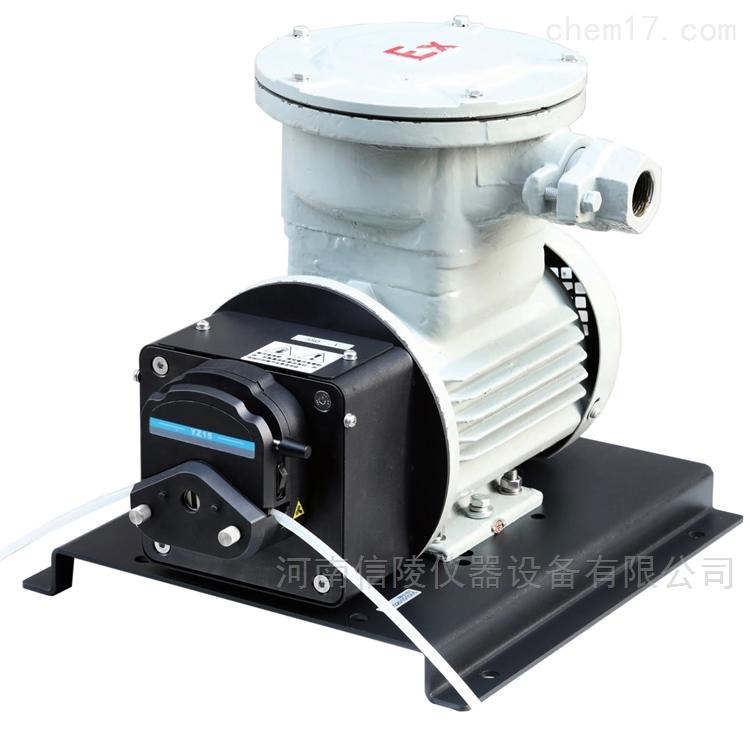 变频防爆电机型蠕动泵