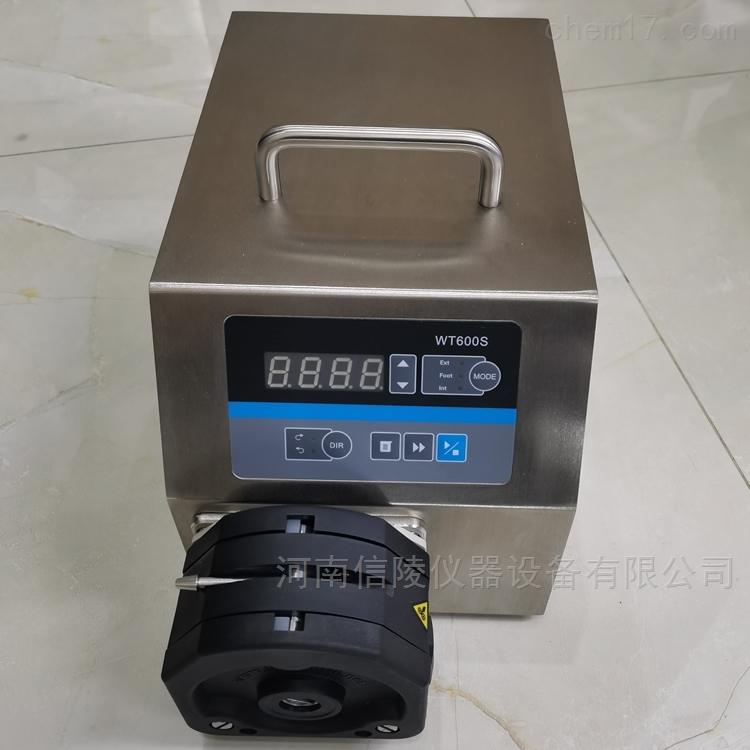 WT300S调速蠕动泵定时定量不锈钢恒流泵