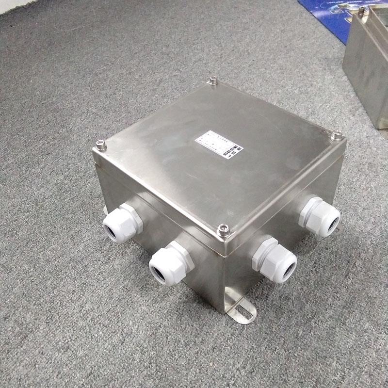 IP65户外电缆不锈钢三防电源接线箱盒