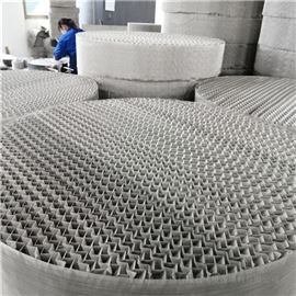 真空精馏塔BX500丝网波纹填料性能特点