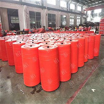 FT300*800水面拦截油污水草塑料浮筒 水电站拦渣