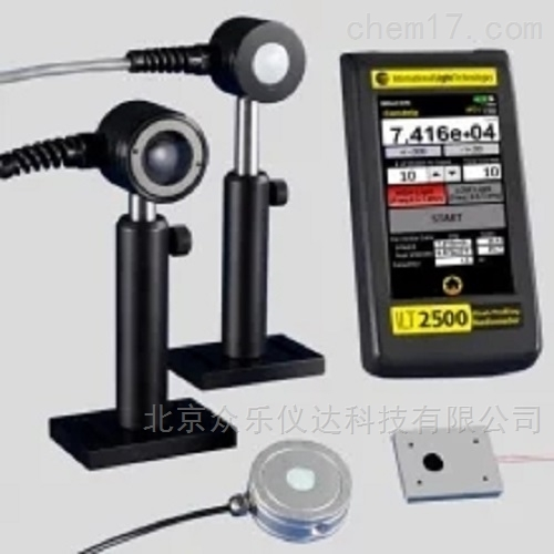 ILT  2500-UVGI-X UVC  闪光计光谱仪