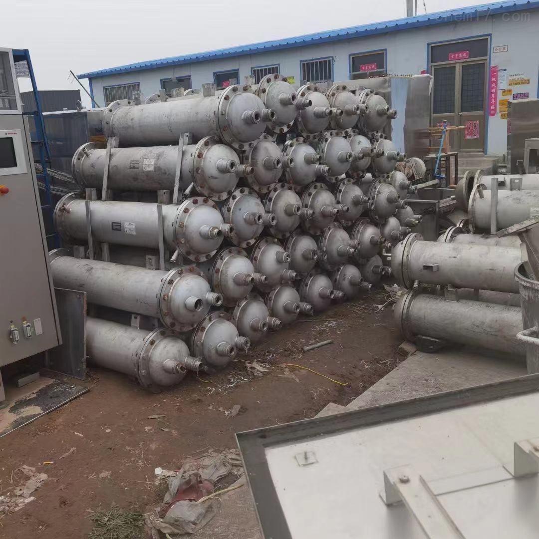二手13平方日本进口列管式冷凝器