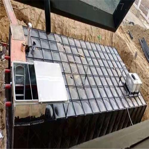 抗浮式地埋一体化消防泵站一般规定