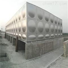 楼顶消防稳压增压不锈钢拼装水箱