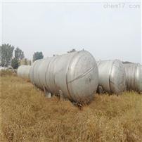 出售二手不锈钢卧式10立方储罐