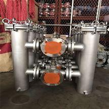 不銹鋼濾芯雙聯過濾器