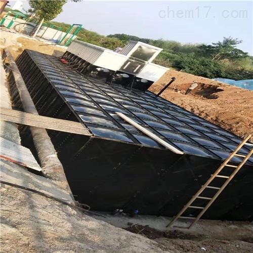 地埋式箱泵一体化消防水箱土建施工