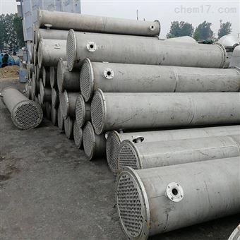 回收各型号二手钛管式冷凝器