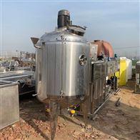 二手1吨电加热保温搅拌罐 不锈钢反应釜
