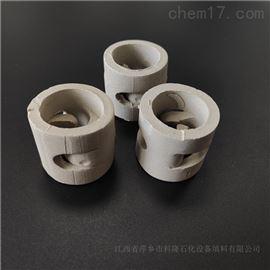 DN25/DN38/DN50耐酸耐碱陶瓷鲍尔环填料