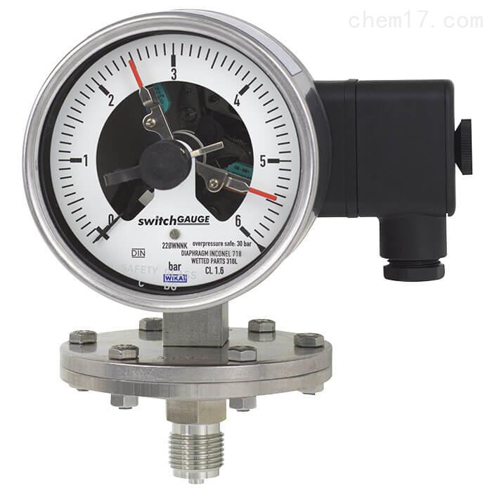 WIKA威卡带电信号输出膜片式压力表物超所值