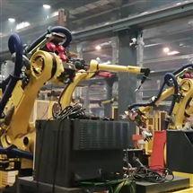 FANUC维修保养发那科机器人示教器开机进度条一直不动修理