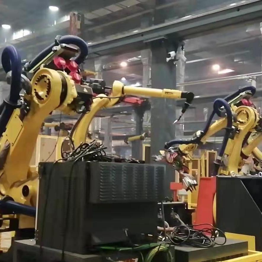 发那科机器人示教器开机走一半死机不动维修