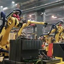 FANUC维修保养发那科机器人示教器开机走一半死机不动维修