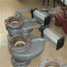 DSPC旋轉式陶瓷耐磨進料閥