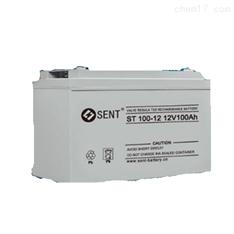 森特蓄电池ST12-200/12V200AH现货总经销