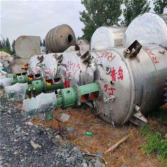 厂家热卖二手8吨不锈钢蒸汽反应罐型号齐全