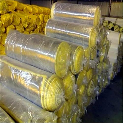 屋顶钢结构保温 离心玻璃棉卷毡厂家报价