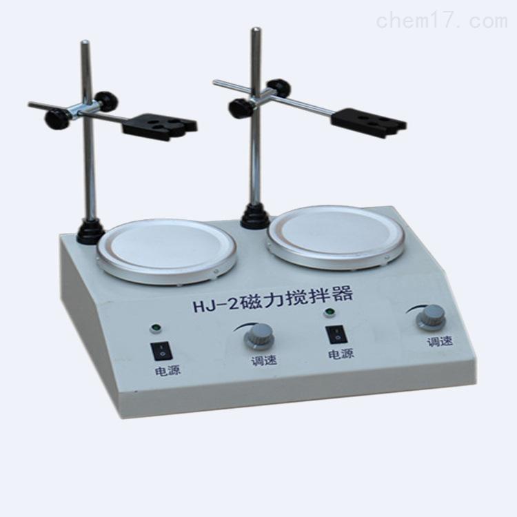 HJ-2多头磁力加热搅拌器生产厂家