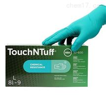 安思尔 Ansell 92-600 一次性丁腈橡胶手套 防化学耐油手套