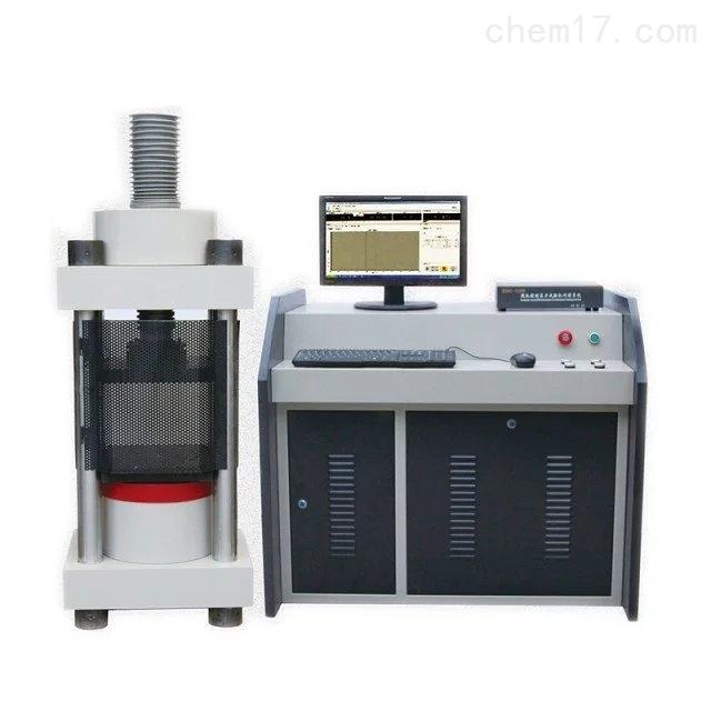 电动调节丝杠四立柱压力试验机