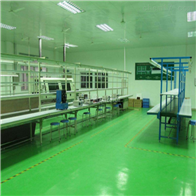 HZD青岛精密电子洁净室入口风淋室设计
