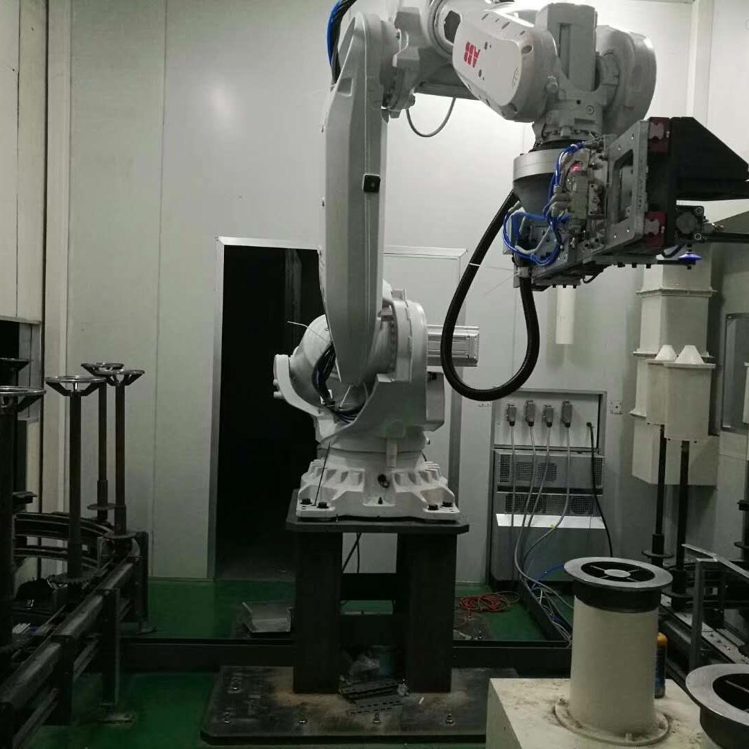 ABB机器人报警输入电源频率警告当天修好