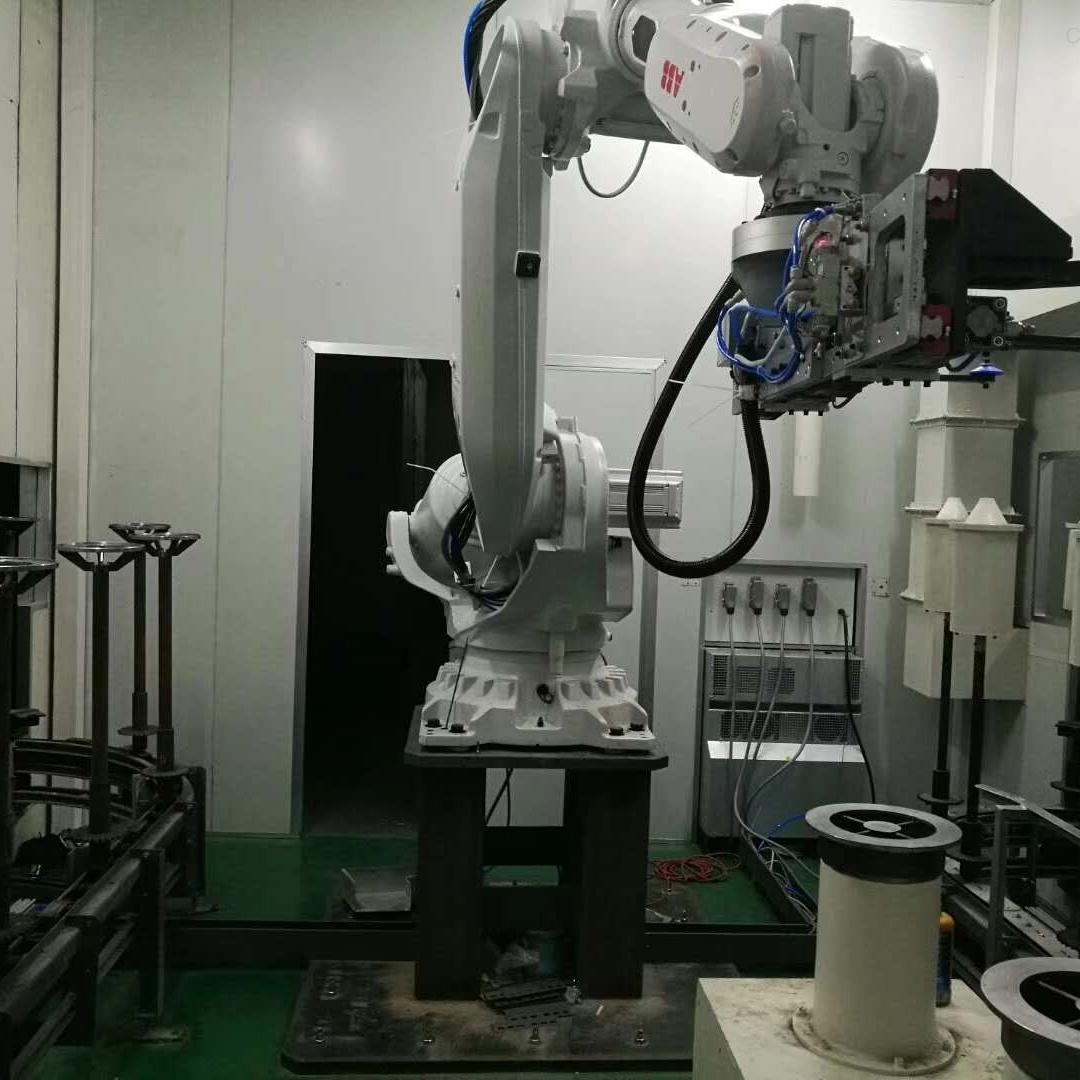 ABB机器人示教器开机进度条反复启动包修好