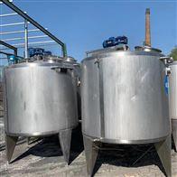 二手2000升 3000升乳品不锈钢发酵罐 配料罐