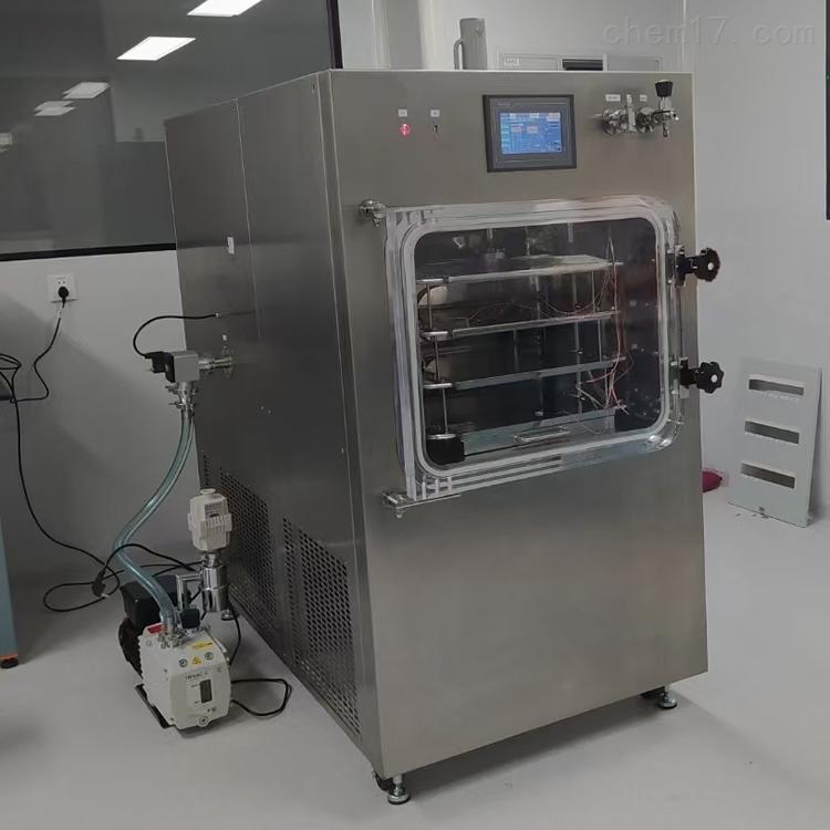 一平米中试压盖冷冻干燥机LGJ-100F